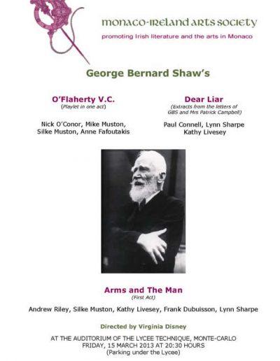 Bernard Shaw poster
